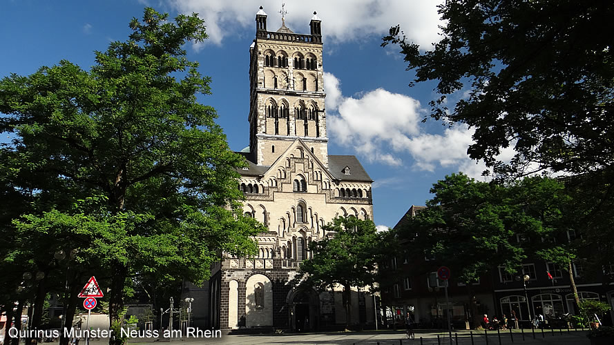 Church St Qurinus Neuss