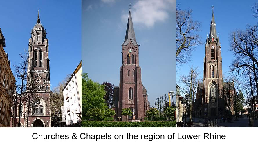 Churches Chapels Lower Rhine