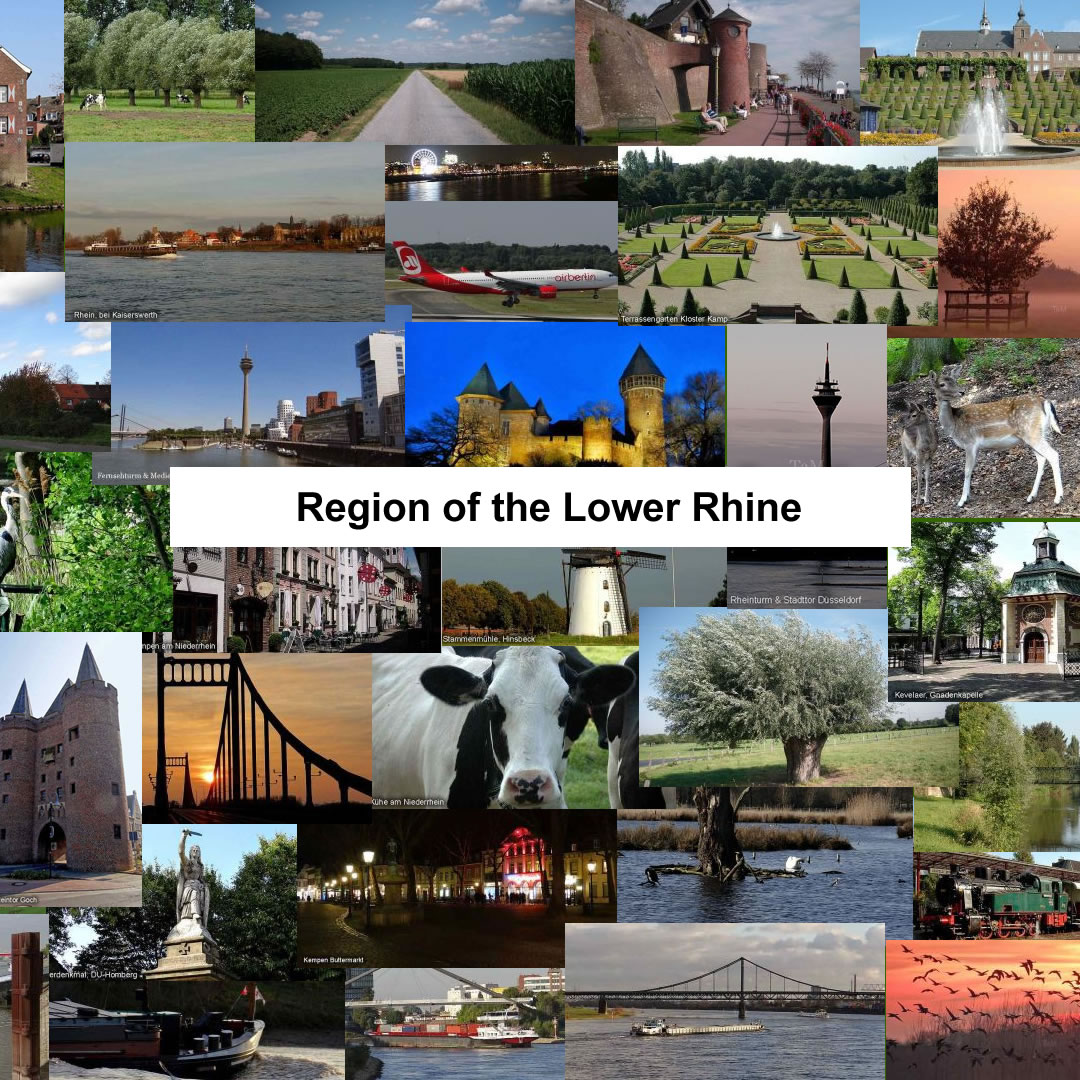 Lower Rhine Photo Collage