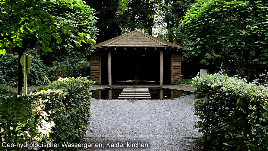 Geo-hydrological Water Garden Kaldenkirchen
