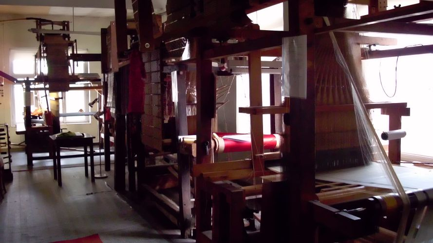 Historic Loom House of Seidenkultur