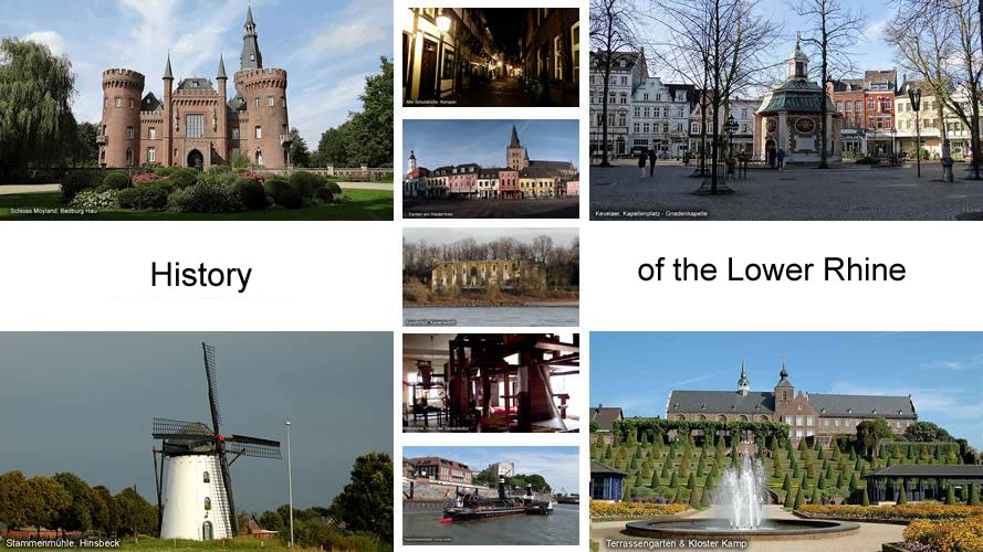 History Lower Rhine