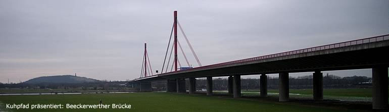 Lower Rhine Bridge Wesel