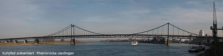 Uerdingen Rhine Bridge